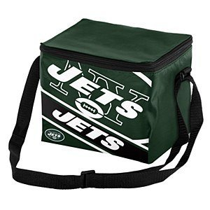 New York Jets Big Logo Stripe 12 Pack Cooler