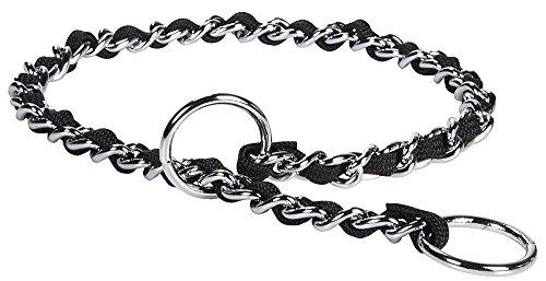 """Petmate Comfort Chain - Black - 3 mm x 22"""""""