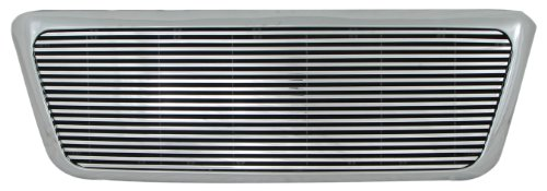 Paramount Restyling 42-0325 Full Replacement Packaged Billet Aluminum Grille with 8 mm Horizontal Bars