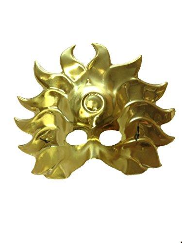 Gold Sun Mask Sun Goddess Halloween Costume Mask (Individual) -
