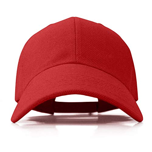 Hats for Men Women Solid Color Acrylic Adjustable caps (RD001)