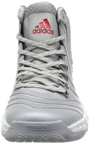 Light Basket Grau Running White Adidas mid Scarlet Scarpe G98406 Da Grey Uomo