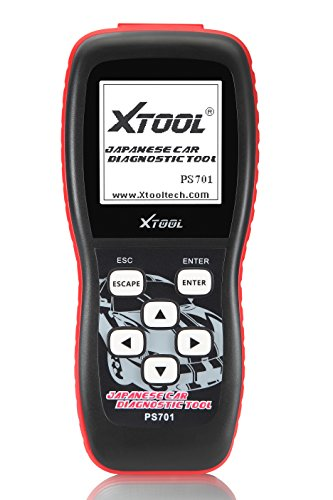 Xtool PS701 JOBD2 OBD2 Car Diagnostics Tools for Toyota/ Honda/ Mitsubishi/ Subaru/ Isuzu/ Suzuki/ Mazda/ Nissan Vehicles - Black by XTOOL (Image #1)