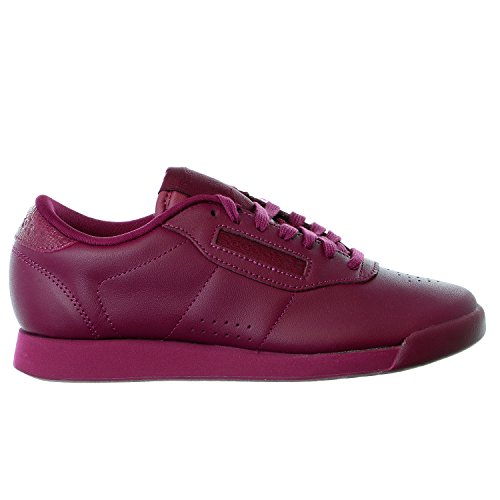 Reebok Women's Princess Eb II Classic Shoe, Rebel Berry/White, 9.5 M US