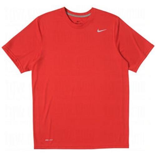 - Nike Men's Legend Short Sleeve Tee, Scarlet, L