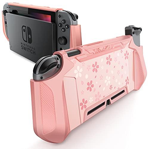 Funda para Nintendo Switch y control Joy-con rosa