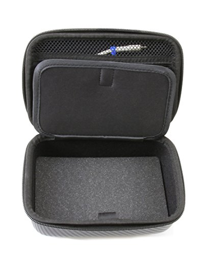 (CASEMATIX Lavalier Mic Case Fits KIMAFUN 2.4g Wireless Microphone and Accessories - Rugged Travel Case Holds KIMAFUN Lavalier Microphone and Transmitter, Receiver, Windscreens, USB Cable and More )