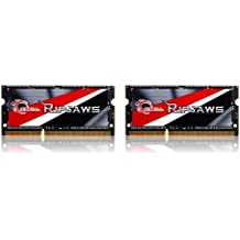 G.SKILL Ripjaws Series 16GB (2 x 8G) 204-Pin DDR3 SO-DIMM DDR3L 1600 (PC3L 12800) Laptop Memory F3-1600C11D-16GRSL