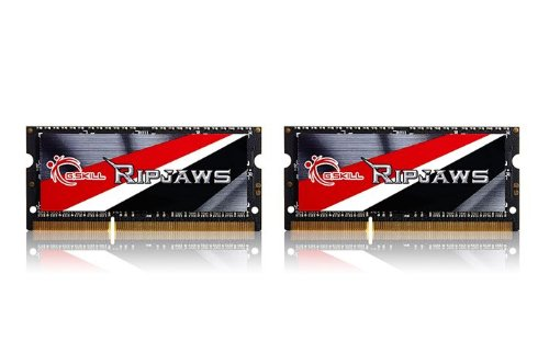 G.SKILL Ripjaws Series 16GB (2x8GB) 204-Pin DDR3 SO-DIMM DDR3L 1600 (PC3L 12800) Laptop Memory Model F3-1600C9D-16GRSL ()