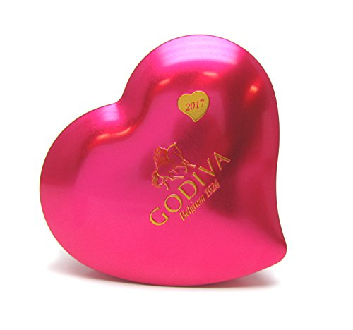 Godiva Chocolatier Collectors Valentines Chocolate