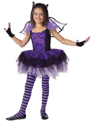 Ballerina Halloween Costume (Child Batarina Bat Ballerina Costume)
