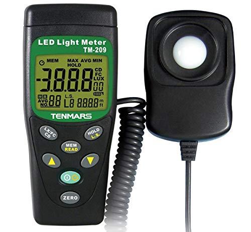 Tenmars Led Light Meter in US - 6