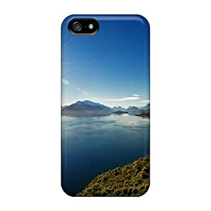 Special MDCH Skin Case Cover For Iphone 5/5s, Popular Lake Wakatipu Nature Phone Case