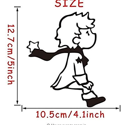 Little Prince Cute Switch Cartoon Vinyl Switch Wall Stickers for Kids Room Home Decor: Home & Kitchen