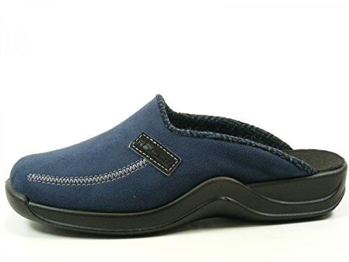 Rohde Vaasa-H - Zapatillas de estar por casa de material sintético para hombre azul - azul (Océan)