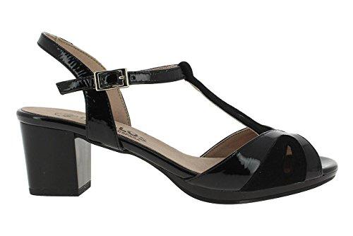 pitillos sandalia negra 36