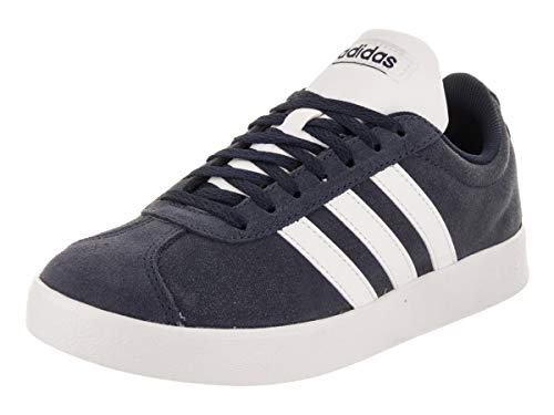 (adidas Performance Men's VL Court 2.0 Sneaker,  Collegiate Navy/White/White,  4.5 M US)