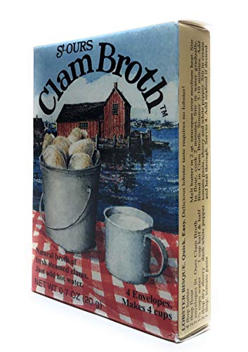 St. Ours Clam Broth Chowder, Stock 1 Box, 4 cups .7 oz ()