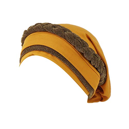 Milk Silk Can Hide Hair Women Muslim Frontal Cross Bonnet Hijab Turban Hat Chemo Cap Head Scarf Headwrap -