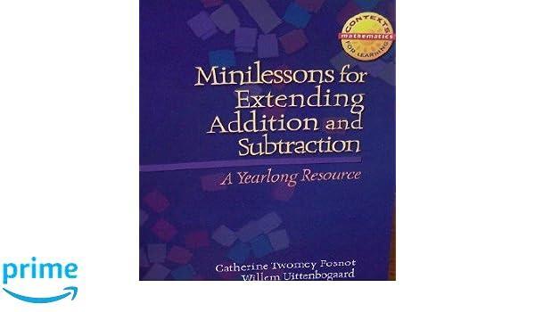 Harcourt School Publishers Math Minilessons