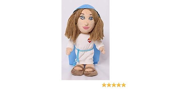 Peluche Virgen María 30 cm: Amazon.es: Juguetes y juegos