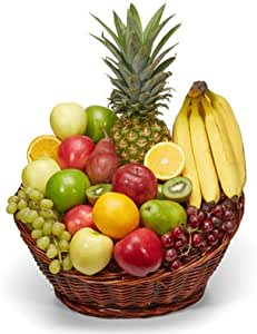 Amazon.com : Fresh Fruit Basket - Organic Fruit Baskets ...