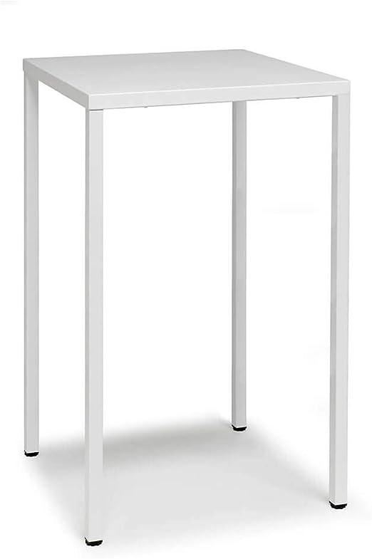 Scab Design Summer mesa alta 110 cm de 70x70 cm blanca: Amazon.es ...