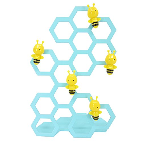 Bee Magnet (Bee Shaped Magnets with Stainless Steel Stands, Magnetic Memo Photo Holder, Desk Table Display, Whiteboard Refrigerator Magnet, 5.95 inch (Mint))
