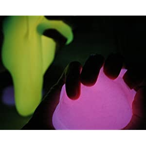 Meg's Glowmix - GLOW IN THE DARK PIGMENT POWDER FOR SLIME: NO FOOD COLORING NEEDED - 3.2 ounces (0.53oz/color) - 6 Pack - Slime Supplies set; add powder to clear glue, epoxy, resin, or nail polish.