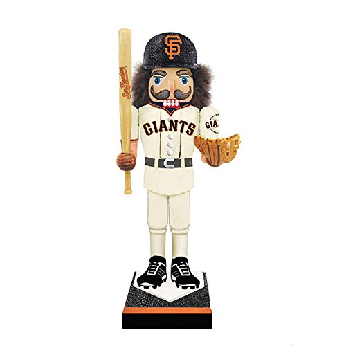 Kurt Adler SF Giants Nutcracker W/bat & Glove