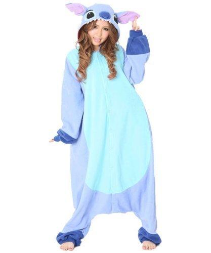Disney Stitch Costume costume Narikiri costume fancy dress Halloween for adults unisex (Lilo & Stitch)