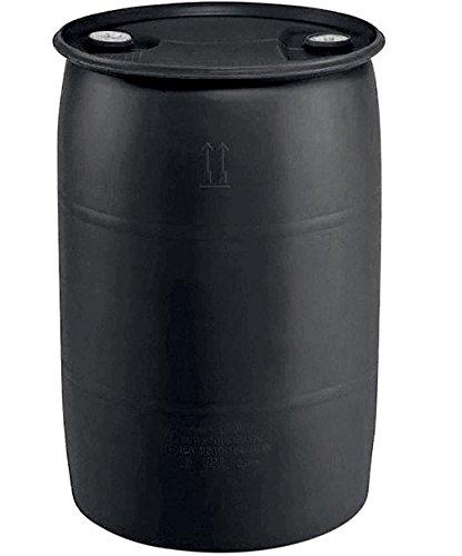 Earthminded Pth0958 Polyethylene Industrial Drum, Black, 55 Gallon
