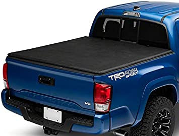 Amazon Com Proven Ground Soft Tri Fold Tonneau Cover For Toyota Tacoma 2016 2020 Automotive