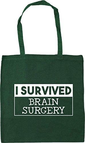 Cirugía 10 Hippowarehouse Totalizador Del Sobreviví X38cm Botella Las De Gimnasio Cerebro De Litros Playa Bolsa Compras Verde 42cm qgHg56