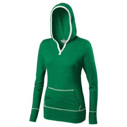 Holloway Juniors Dynamite Hoodie (X-Small, Vintage Kelly/White)
