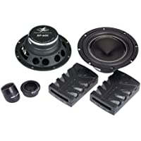 Power Acoustik XP60C PA 6.5-Inch 150W 2 WAY COMPONENTS 1-Inch SILK