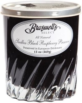 Braswell's Select Seedless Black Raspberry Preserve - 13 Oz
