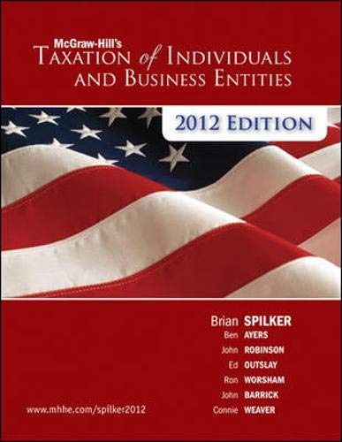 McGraw-Hill's Taxation of Individuals and Business...