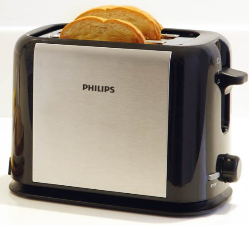 Philips Metal Toaster Hd2586