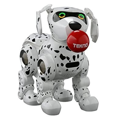 Manley Tekno The Robotic Puppy - Dalmatian: Toys & Games
