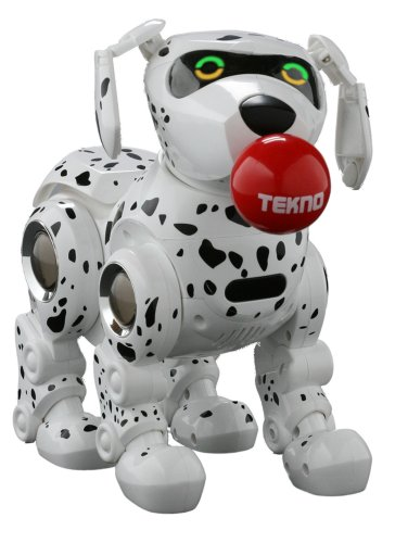 Tekno the Robotic Puppy - (Walk Like A Robot)