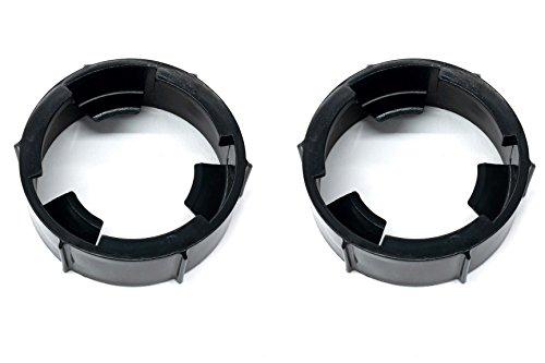 - (2) Headlight Lamp Bulb Socket Retainer Rings