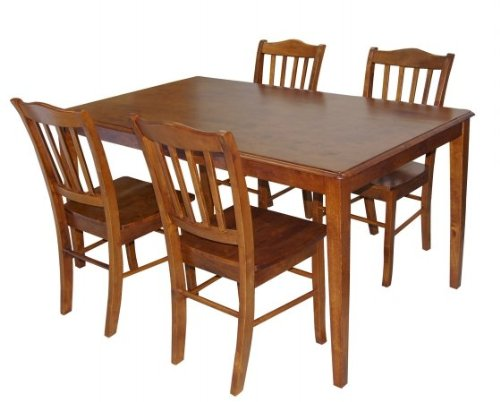 Boraam Shaker Dining Chairs, Set of 2, Walnut