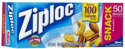 Ziploc Snack Bag-50 ct (Quantity of 6)