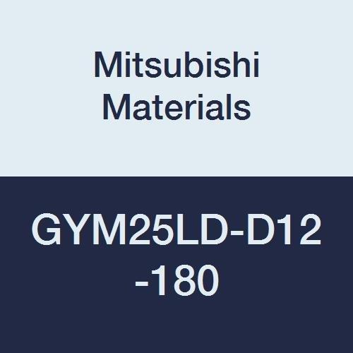 M25 Size 7.087 Grooving Diameter Modular Blade 0.079//0.088 Seat Left Hand Mitsubishi Materials GYM25LD-D12-180 Face Grooving Holder 0.472 Grooving Depth