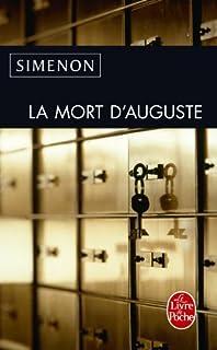 La mort d'Auguste, Simenon, Georges