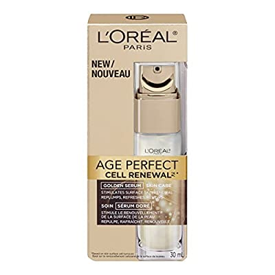 L'Oreal Paris Age Perfect Cell Renewal Golden Serum, 1 Fluid Ounce