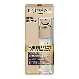 L'Oreal Paris Age Perfect Cell Renewal Golden Serum, 30-Milliliter