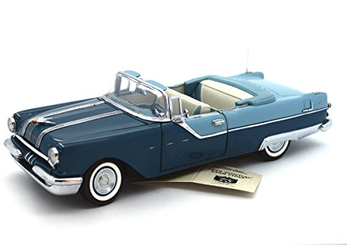 - FRANKLIN MINT 1955 Pontiac Star Chief TINDERBOX LE 0073/1,000 Diecast 1:24