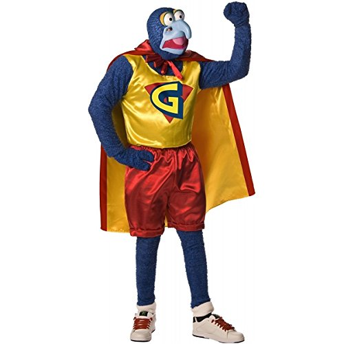 [Gonzo Costume - Standard - Chest Size 40-44] (Gonzo Adult Costumes)